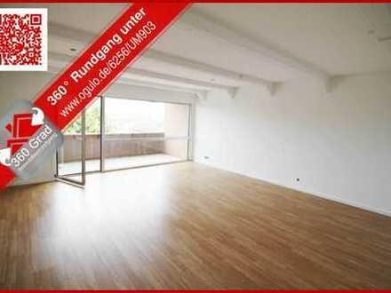 Frisch renovierte helle 3-Zimmerwohnung im 3.OG mit grosser Loggia mitten in Frechen-Habbelrath