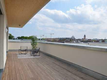Penthouse für Single oder Paar mit Liebe zur Dachterrasse