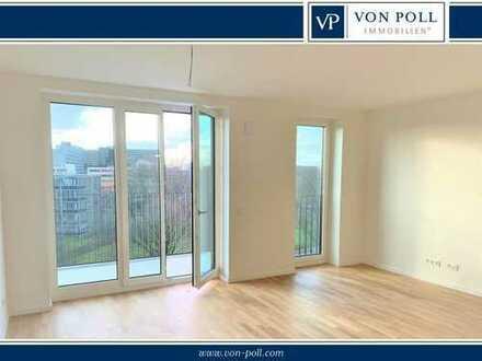 Erstbezug: Zweizimmerwohnung mit Balkon und Tiefgaragenplatz