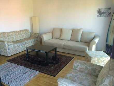 Möbliertes 18qm Zimmer, eigenes Bad in 80qm Wohnung, Balkon 4.OG