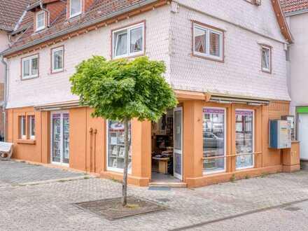 Sympathisches Ladengeschäft am Schlossplatz
