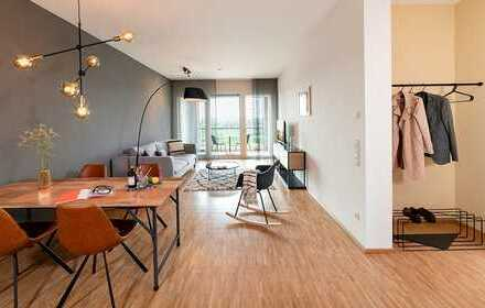 Modernes Serviced Apartment mit 2 Zimmern auf dem Gelände der Bundesgartenschau mit Seeblick