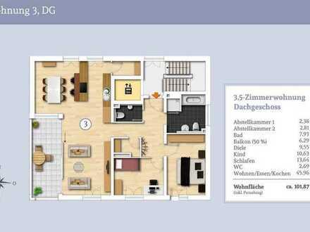 Über den Dächern von Albstadt exklusive Penthouse Wohnung - Ihre Chance!