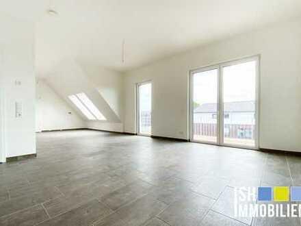 Harsefeld: Wunderschöne 3-Zimmer-Dachgeschosswohnung mit Süd-Westbalkon - Barrierefrei - Aufzug!