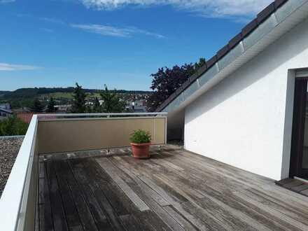 Erstbezug nach Renovierung- helle 4 Zimmer DG- Wohnung, beliebte Wohnlage in Herbrechtingen