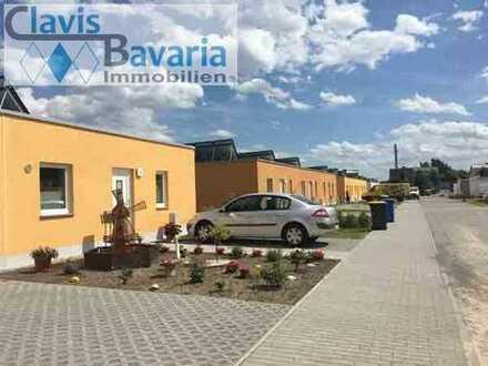 Wohnungen im Bungalowstil mit Gartenanteil