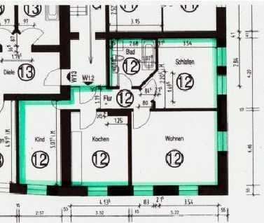 Günstige 3-Zimmer Wohnung in Lippstadt Zentrum