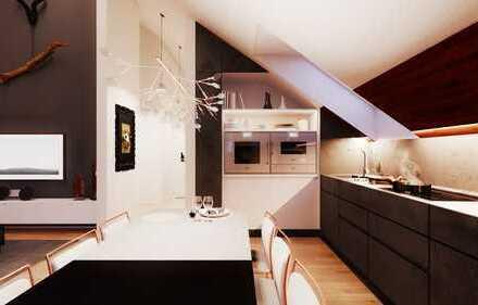 Wohlfühlatmosphäre garantiert! Viel Platz in moderner Wohnung mit Galerie & Loggia