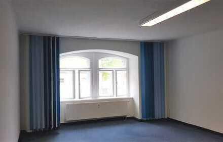 Büro in Westlage: hell und freundlich; klimatisiert dank dicker Wände; DSL-Anschluss möglich