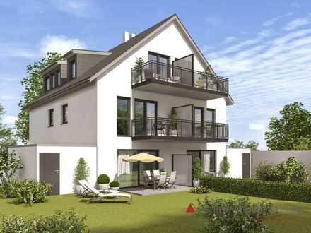 Neubau Doppelhaushälfte auf großem Grundstück in Wiesbaden Rambach!