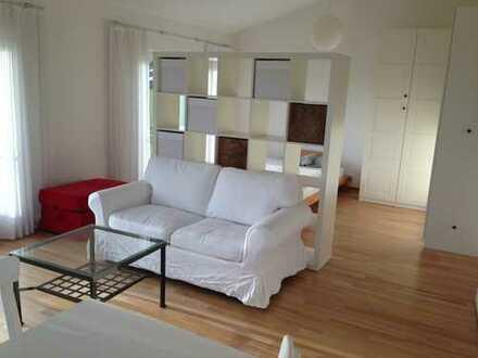1-Zimmer-Wohnung möbliert zur Zwischenmiete 3.März-9.Mai zu vermieten