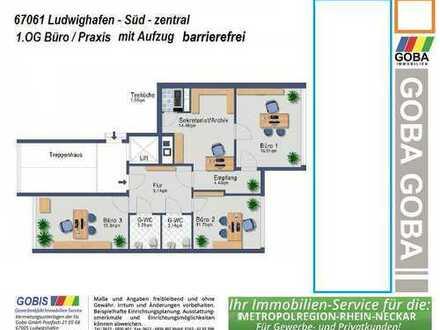 Lu Süd n.V. Büro-Praxisräume 79 m² - nahe Gericht -