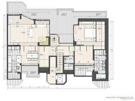 Luxus Penthouse-Wohnung im Herzen von Köln-Deutz