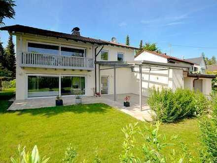Chices Einfamilienhaus mit großzügigem Raumangebot in Riemerling
