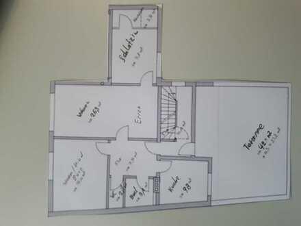 Gepflegte 3-Raum-Wohnung mit 40 m2 Terasse in Neu-Ulm Reutti