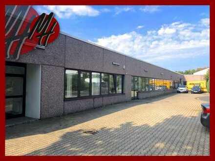 VIELSEITIG NUTZBAR ✓ Lager-/Fertigungsflächen (570 m²) & Büro-/Serviceflächen (280 m²) zu vermieten