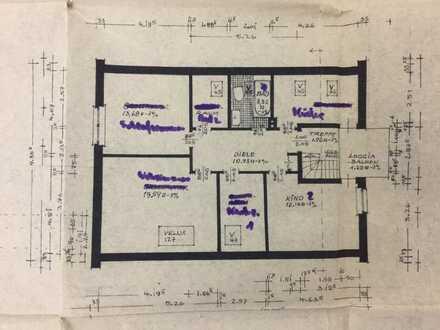 4-Zimmer Wohnung mit Balkon und Einbauküche in Delmenhorst