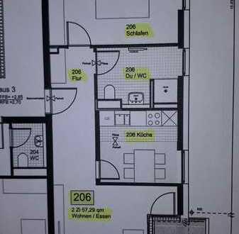 Erstbezug mit Einbauküche und Balkon: exklusive 2-Zimmer-Wohnung in Stuttgart-Birkach