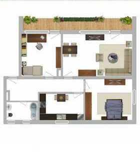 3 Zimmer Wohnung in Buchloe