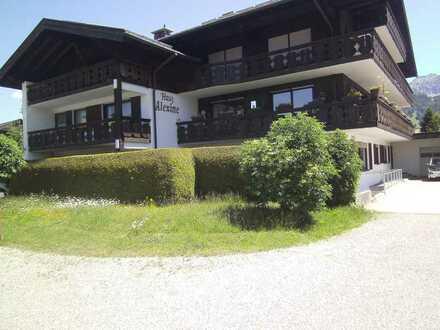 Provisionsfrei: Schöne 1-Zimmer Wohnung in Oberstdorf am westlichen Ortsrand