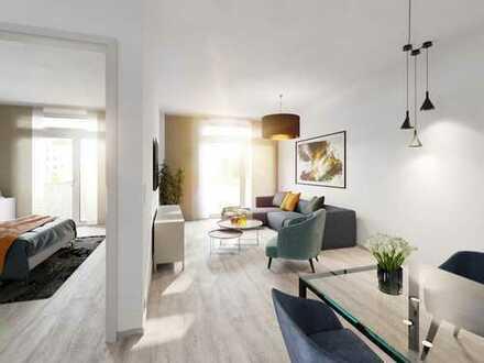 Einzigartiger Wohngenuss - Ihre neue 2-Zimmer-Wohnung auf ca. 54 m² mit Balkon in Bestlage