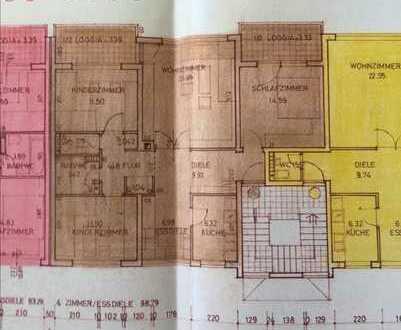 Keine Provision!!! Wohnung mit 102 m² - 4.5 Zi.