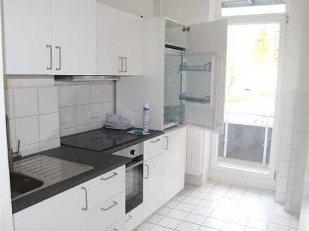 Stilvolle 1-Zimmer-Erdgeschosswohnung mit Balkon und EBK in Kiel