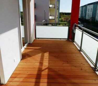 **Barrierefreies und betreutes Wohnen am Himmelweiher** Hochwertige 3 ZKB– Wohnung mit Balkon