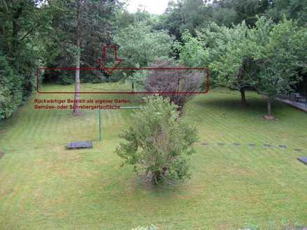 Gartengrundstück, Schrebergarten, Gemüsegarten, eigener Garten, etc.