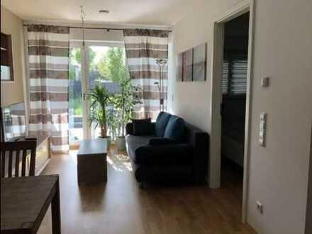 Vollständig Möblierte 2 Zimmer Wohnung mit 50m² Garten