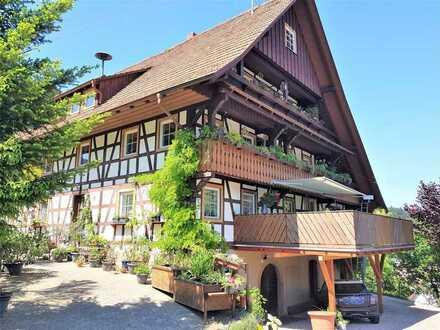 Traumhaft schönes MFH mit 6 Wohneinheiten im idyllischen Ottenhöfen