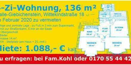 große, helle Altbauwohnung im Giebichensteinviertel 136 qm