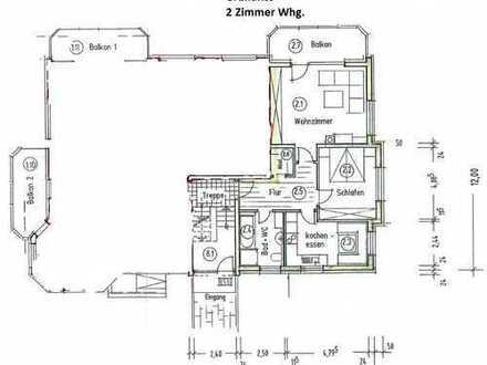 Neuwertige, gepflegte und lichtdurchflutete 2-Zimmer-Wohnung im 1.OG mit Balkon in Buchholz