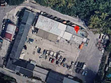 Gewerbehofflächen für Lager, Produktion, Büro 50-250 m²