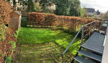 Schicke 2-Zimmer-Wohnung mit Terrasse und Garten in zentraler Lage in Maintal-Hochstadt