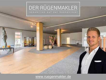 Attraktive und großzügige Einzelhandel-/Gewerbefläche mit ca. 228 m² in 18528 Bergen auf Rügen