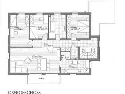 Etagenwohnung im 1. OG mit Balkon / Einbauküche / Garage