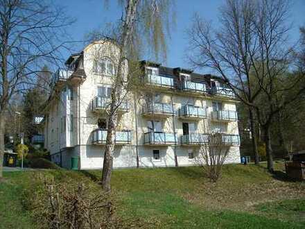 barierrefreie, kleine Wohnung, Balkon, Aufzug, Küche