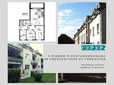 3-Zimmer-Wohnung mit Balkon - Kapitalanlage