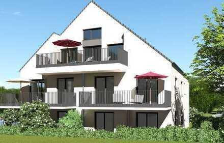 Ohne Käuferprovision: Eigentumswohnung Nr. 3 im Obergeschoss mit großem Balkon