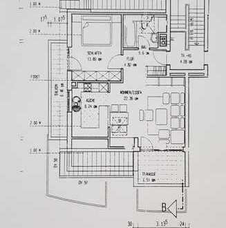 Sonnige 2 1/2 Zimmer- Dachgeschoßwohnung in Bietigheim-Bissingen
