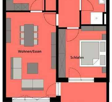Erstbezug: gehobene 2,5-Zimmer-Wohnung mit EBK und Loggia in Nördlingen