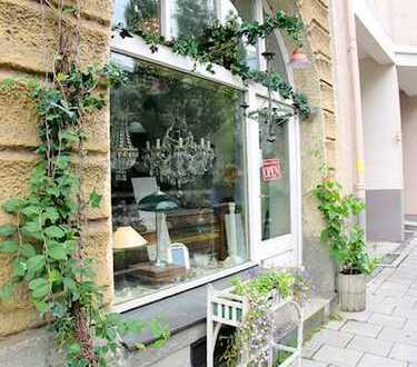 Kleiner Laden im denkmalgeschützten Altbau nahe Wiener Platz