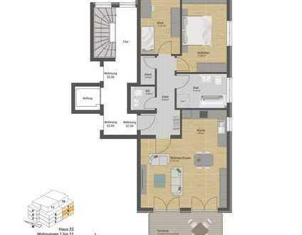 Großzügige Etagenwohnung mit Süd-Balkon