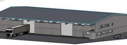 Neue Gewerbehalle für flexible Nutzung - z. B.Lager, Produktion, Online-Shop