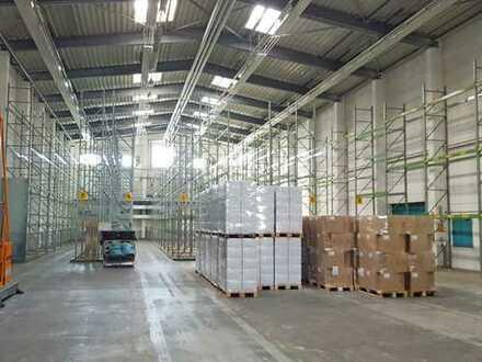 Hochwertige Lager- und Produktionshalle zu vermieten