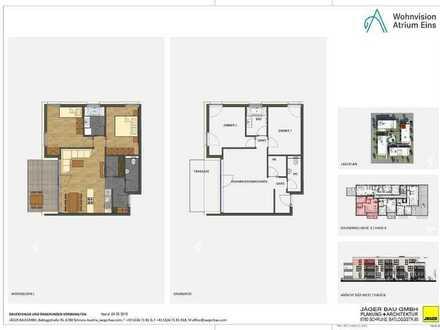 Haus B: 3 Zimmer im 3. Obergeschoss