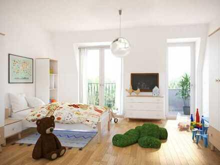 ***FAMILIENFREUNDLICHE*** 4-Zimmer-Wohnung auf ca. 104 m² Wohnfläche mit 2 Bädern, Balkon & Loggia