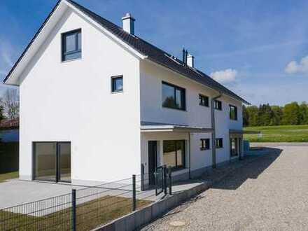 Schöne Neubau Doppelhaushälfte zum Wohlfühlen in Riederau