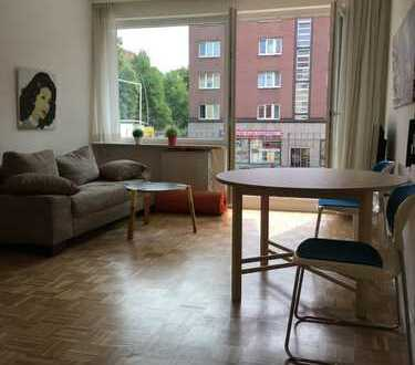 Furnished 1-room apartment near metro Wartenau / free from 25.01.2020